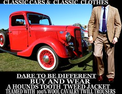 Classic cars ver 3 Tweed - Twill clothes  part 10 (Make Oxygen... Kill Co2...Plant More Trees) Tags: auto old newzealand christchurch usa dog cars car fashion socks cat truck canon vintage golf photo clothing 1982 classiccar vintagecar outdoor 1987 1988 sydney nelson tags vehicles auckland american nz 1984 wellington 1981 vehicle dunedin shorts 1978 1989 bermuda 1983 autos 1970s kiwi 1986 1977 1980 1980s 1985 1979 napier cavalry tweed houndstooth kiwiana twill tweedjacket tweedcoat trending wearingshorts cavalrytwilltrousers cavalrytwill wearingsocks menscavalrytwilltrousers