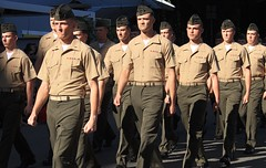 our new chums...Anzac Day 2016 Darwin (g*treefrog) Tags: usmc march uniform darwin soldiers marines tension chums anzac2016