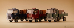 Vintage Truck (kosbrick) Tags: china city classic car truck vintage indonesia town lego chinese newyear vehicle moc