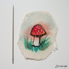 Bordado Cogumelo - Parte III (My Own Landscape Dreams) Tags: cogumelo bordado freeembroidery dreamscogumelomushroom