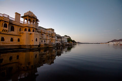 Morningrise (Cam_Buff) Tags: morning travel india lake reflection tourism water sunrise canon temple dawn early indian earlymorning taj palace wanderlust incredible wander rajasthan udaipur breaking pichola rajastan dairies reflectiononwater waterbody indianfolklore photographycanon canon60d