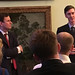 Greg Hands MP welcomes Jacob Rees-Mogg MP to Fulham, where he addressed local Conservative supporters.