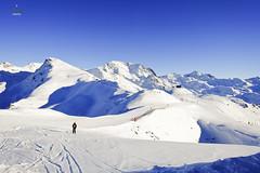 Petits Creux (A. Wee) Tags: ski france alps trail skiresort piste lesmenuires  troisvalles   les3valles petitscreux