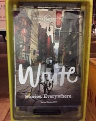 "write. stories. everywhere. | gotham writers | spring classes 2016 | #newyork #newyorkcity #manhattan #streetart #streetphotography #US #urban #city | #worldcommuter #travel #ad #photo #photowall (""guerrilla"" strategy) Tags: city newyorkcity travel urban streetart newyork us photo spring manhattan ad streetphotography writers write gotham stories photowall everywhere | classes 2016 instagram ifttt worldcommuter"