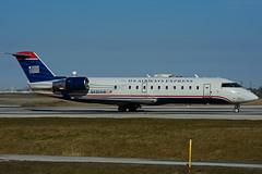 N430AW (Air Wisconsin) (Steelhead 2010) Tags: yyz crj canadair crj200 airwisconsin usairwaysexpress n430aw nreg