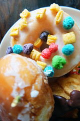 Twisted Donuts & Coffee (polina.fearon) Tags: dessert yummy san francisco yum sweet sugar delicious doughnut nutella