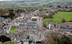 130/366 Corfe Castle Village (dorsetpeach) Tags: england castle church spring village dorset 365 corfe corfecastle purbecks 2016 366 aphotoadayforayear 366project second365project