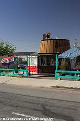 Boron's Barrel Restaurant (Barstow Steve) Tags: california plane decoration boron