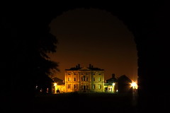 Doncaster Cusworth Hall at night. (mru24) Tags: park travel night canon photography hall doncaster cusworth 40d