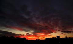 DSCF0710 (didbo69) Tags: sunset sky sun clouds sunrise rising sunny redsky fiery fier redclouds fierysky flamy