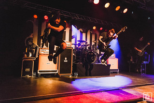 We Came As Romans @ Zappa // Shot by Jurriaan Hodzelmans