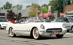 1954 Chevrolet Corvette (SPV Automotive) Tags: white classic chevrolet sports car convertible 1954 corvette roadster c1