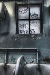 Voyeur (cotswoldman) Tags: loo bristol decay toilet peelingpaint decrepit distressed publictoilet cabottower brandonhill gloucestercameraclub