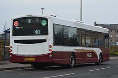174 (Callum Colville's Lothian Buses) Tags: bus buses edinburgh lothian eclips lothianbuses edinburghbus eskbank b7rle sn58byp madderandwhite madderwhite