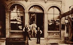 German Newspaper Office in Portage