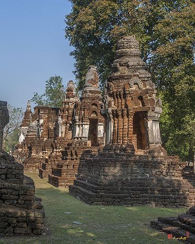 Wat Chedi Ched Thaeo Subsidiary Chedi (DTHST0138) วัดเจดีย์จ็ดแถว เจดีย์ในสังกัด