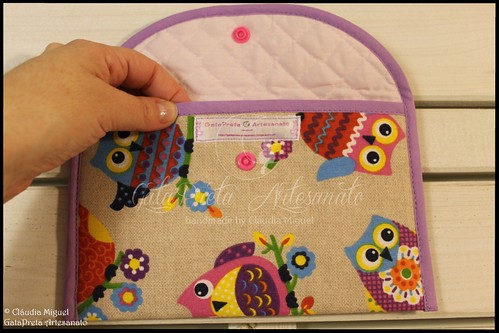 "Conjunto maternidade ""Girly Owls"""
