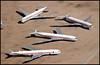 N8705T - Davis Monthan AMARC (DMA) 24.09.2009 (Jakob_DK) Tags: 2009 dma kdma davismonthan amarc amarg boeing boeing707 707 b707 707300 707300b 707300c twa transworld transworldairlines