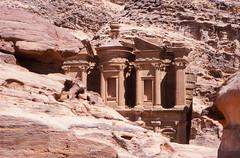 The Monastery, Petra (Niall Corbet) Tags: archaeology ancient sandstone desert tomb petra ruin middleeast jordan monastery nabatean