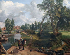 Flatford Mill - John Constable (AnthonyR2010) Tags: london mill painting landscape suffolk gallery tatebritain constable flatford johnconstable