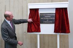 HRH The Duke of Kent officially opens The Forum Southend-on-Sea (SouthendBC) Tags: kent duke southend theforumsouthendonsea
