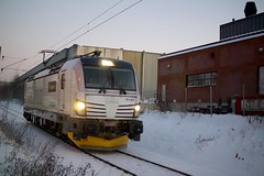 Alnabanen i Oslo (jonarnefoss2013) Tags: oslo norway train nsb tog bjerke visitnorway ruter nikon1 visitoslo alnabanen