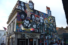The Prince Albert, Brighton (curly_em) Tags: streetart musicians portraits pub mural brighton icons eastsusses