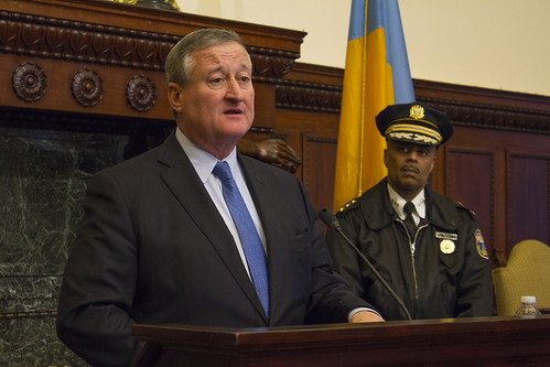 Phila. Mayor Jim Kenney