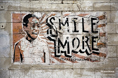 Good Advice (DetroitDerek Photography ( ALL RIGHTS RESERVED )) Tags: urban usa sign wall digital america canon happy eos michigan detroit january faded 5d weathered aged michiganavenue allrightsreserved mkii goodadvice 313 motown motorcity smilemore 2016 happier nothdr