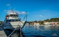 Rab (Milan Z81) Tags: sea port island harbor boat town europe croatia more grad brod adriatic luka hrvatska otok jadran rab