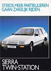 Ford Sierra Twin-Station leaflet 1983 (sjoerd.wijsman) Tags: auto cars ford car voiture sierra vehicle 1983 van leaflet brochure fahrzeug folleto fordsierra prospekt carbrochure opuscolo brochura broschyr autobrochure fordsierravan sierravan