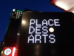 Place des Arts in Montreal (chibeba) Tags: city winter vacation urban holiday canada place montral quebec montreal arts january des northamerica qc 2016 citybreak