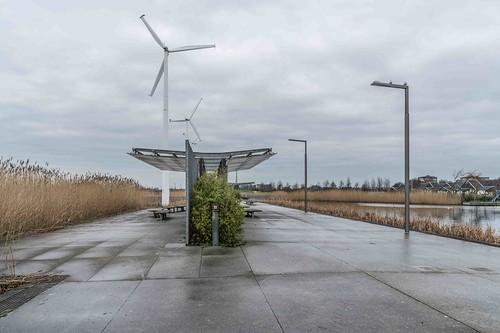 Wind Powered Public Park In Clongriffin Dublin [Father Collins Park]-110931