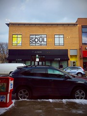 J. Crew and SoulCycle - January 22, 2016 (southportcorridorchicago) Tags: city urban chicago retail shopping corridor cubs wrigley lakeview southport jcrew wrigleyville soulcycle southportcorridor