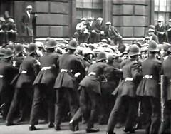 1920. Downing Street, Westminster, London, SW1, UK. Deputation Of Mayors To No 10 Downing Street. (sgterniebilko) Tags: uk london westminster politics ad sw1 downingstreet scotlandyard metropolitanpolice alphadelta policelondon yardpolice cannonrowpolicestation londonpolicescotland constablebritish