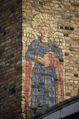 DSC_9632 Rivington Street Shoreditch London Street Art Angel Watching over us (photographer695) Tags: street london art angel us watching over rivington shoreditch
