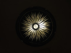 ceiling light sunburst design (Zombie37) Tags: street city light sun lines electric architecture contrast vintage dark circle movie design hall theater theatre antique unique shapes style indoor wiggly baltimore ceiling handpainted round symmetrical sunburst artdeco rays preserved ideal avenue deco fixture hampden 3rd starburst radiating zap reuse 36th mesmerizing 21211