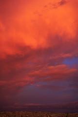 Red Sky (studio14ec) Tags: city blue red sky orange cloud beautiful skyline clouds big beaut