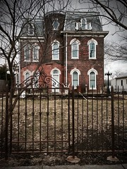 """""""Adams' House"""" (mrgraphic2) Tags: indianapolis indiana victorianhouse adamshouse iphone6s"""