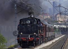 Garrafeta SC (Mariano Alvaro) Tags: tren trenes san cristobal vapor coches cba renfe costas fresa garrafeta