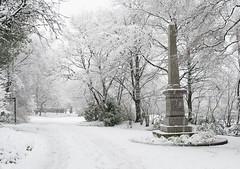 Stamford Park Stalybridge (derek.jfox66) Tags: snow parks winterscene stamfordpark