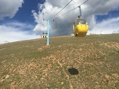 Continental Divide (Monarch Pass) CO (Onceafewmonths) Tags: travel mountain mountains colors up clouds america fun outside outdoors colorado crossing united pass rocky going down monarch co gondola states traveling coming range cheap scribe squeezing 2015 murica