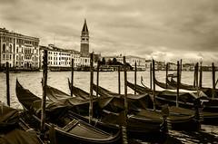 Venice Under Cloudy Sky