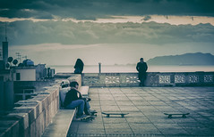 Afternoon (piercarlobacchiphotography) Tags: sardegna street people italy canon italia sardinia streetphotography persone crossprocessing cagliari 6d canon24105f4 canon6d wwwpiercarlobacchiphotographycom