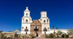 San Xavier del Bac (A Wild Western Heart) Tags: arizona white architecture tucson mission sanxavierdelbac whitedoveofthedesert