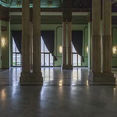 Columns Hall (Julio Lpez Saguar) Tags: madrid espaa hall spain space columns sala inside espacio columnas aprobado crculodebellasartes juliolpezsaguar