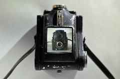 Ensign Ful-Vue (sgreen757) Tags: camera 120 6x6 metal vintage 50mm mirror nikon view box top screen medium format nikkor ful finder vue ensign 18g