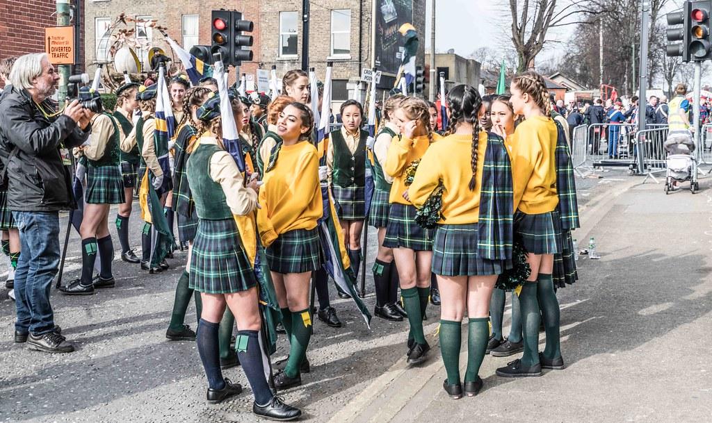 SHORECREST HIGH SCHOOL [ST. PATRICK'S PARADE IN DUBLIN 2016]-112228
