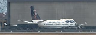 Iron maiden boeing  747