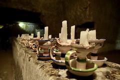 (Giramund) Tags: italy naples candles napoli sotterranea underground city faces